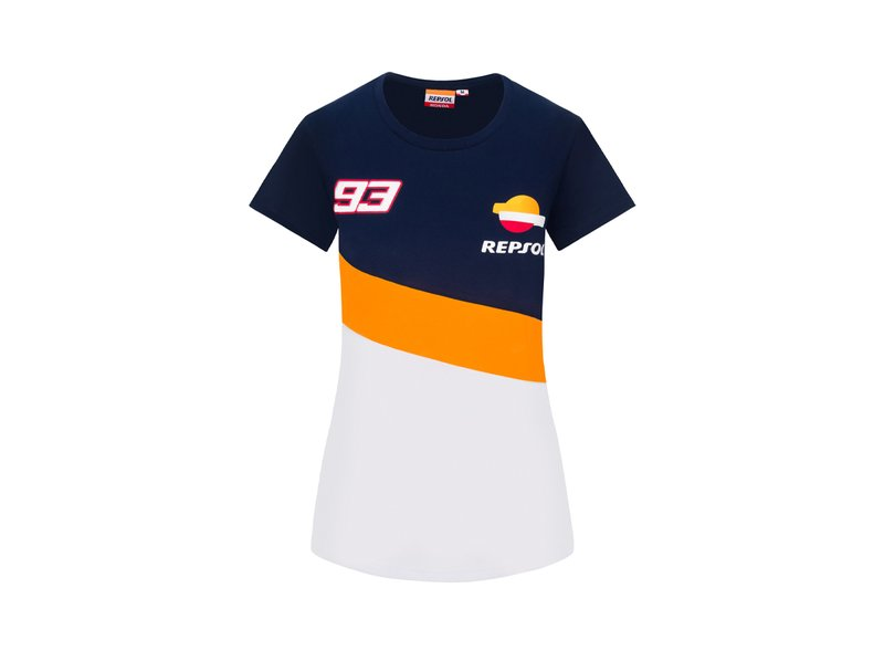 T-Shirt Femme Repsol Honda Dual Marc Marquez