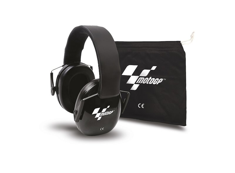 Casque Antibruit MotoGP™ Noir - White