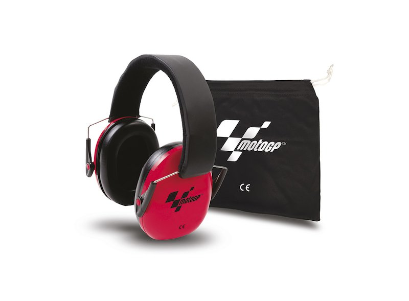Casque Antibruit MotoGP™ Rouge - White