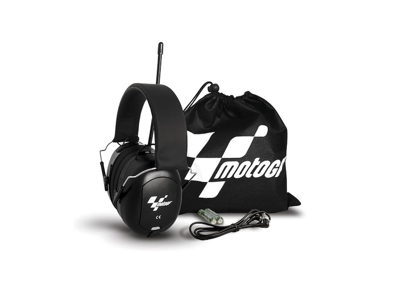 Casque radio antibruit MotoGP™ - White