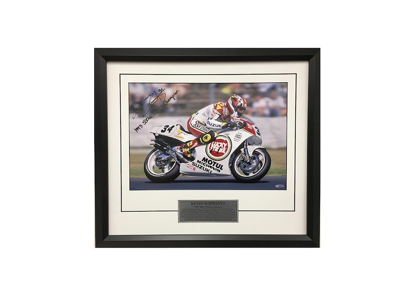 Kevin Schwantz 1993 500cc World Champion - White