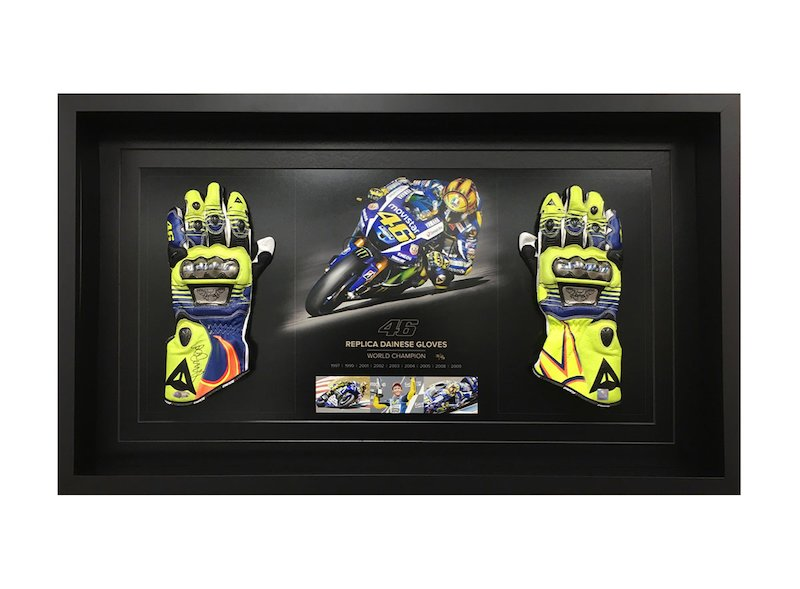 Valentino Rossi Guantes Dainese Réplica - White