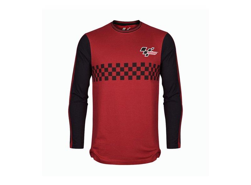Camiseta Roja Manga Larga MotoGP™ Cuadros