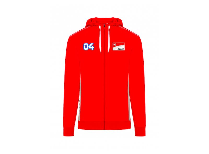 Sweat Andrea Dovizioso Ducati 04 - Red