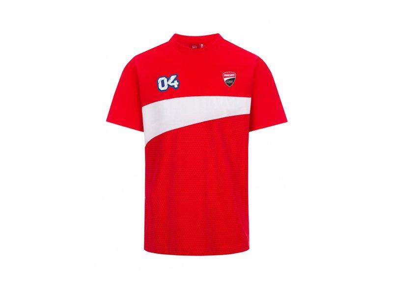 T-shirt Dovizioso Ducati Dual 04 - Red