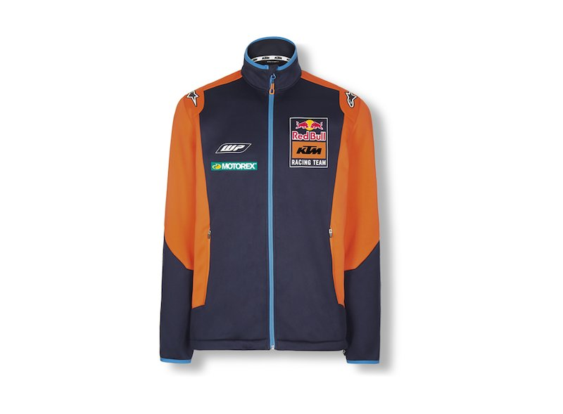 Red Bull KTM Softshell Jacket - Blue