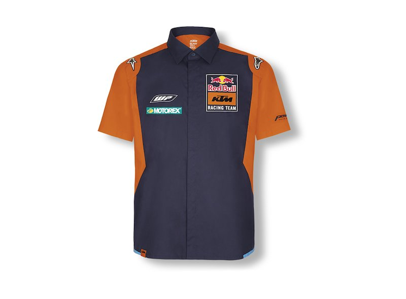Red Bull KTM Teamline Shirt - Blue