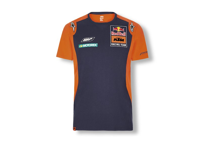 Red Bull KTM Teamline T-Shirt - Blue