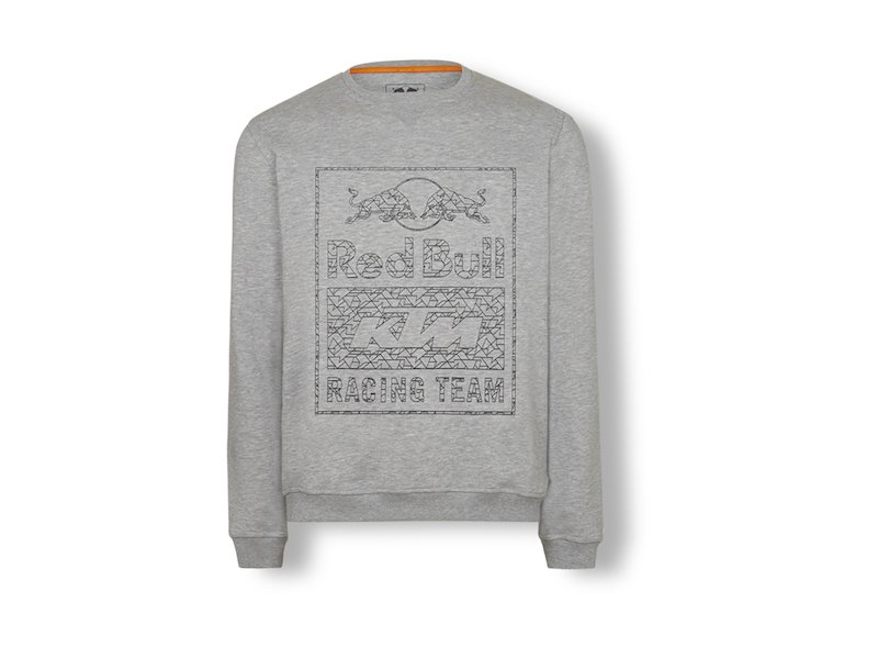 Sweatshirt gris Red Bull KTM