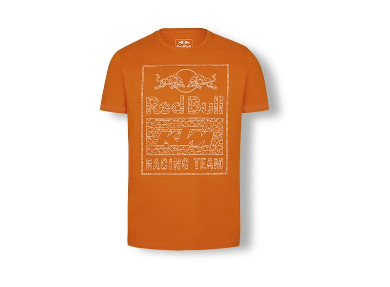 T-shirt Graphic orange Red Bull KTM - Orange