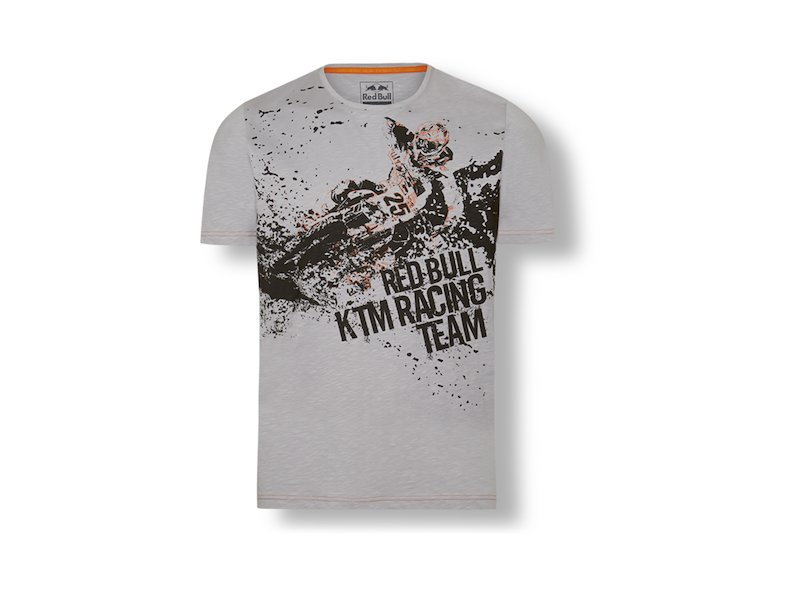 Camiseta Graphic MM25 Ride Red BUll KT - Grey