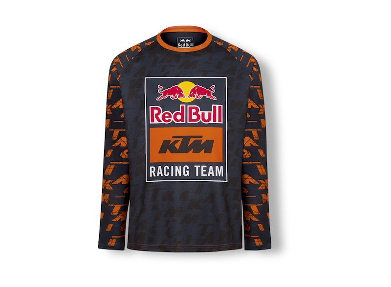 Maglietta Mosaic Red Bull KTM - Orange