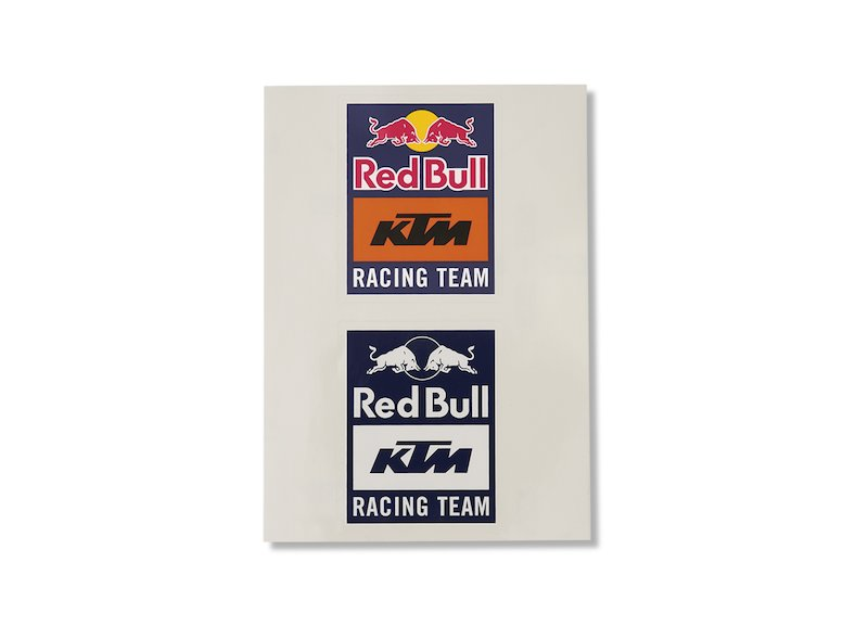 Autocollants Red Bull KTM Factory Racing - Blue