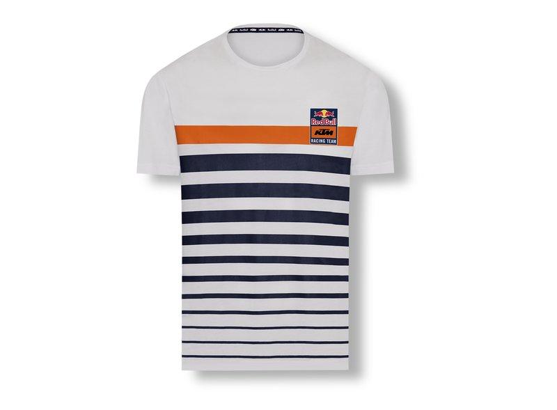 T-shirt Stripe Reb Bull KTM