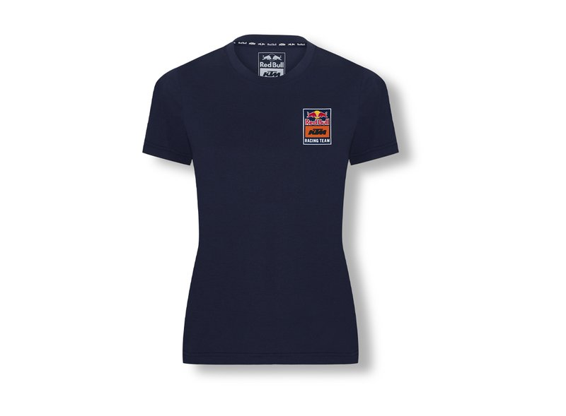 Camiseta Backprint Red Bull KTM Mujer - Blue