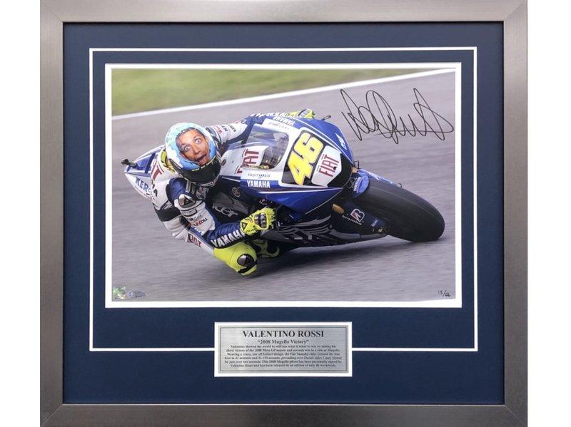 Valentino Rossi 2008 Mugello Victory