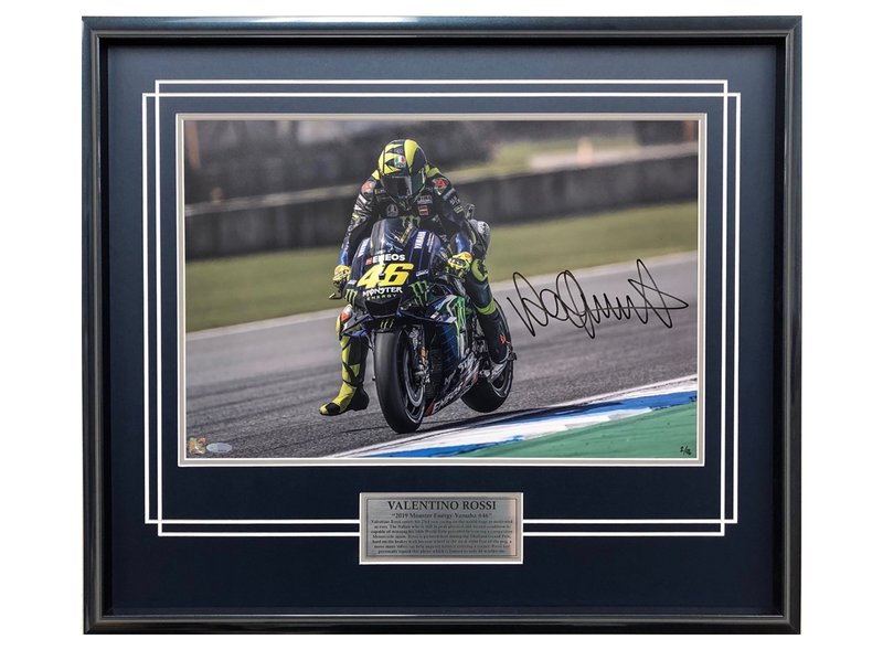 Valentino Rossi 2019 Freinage dur