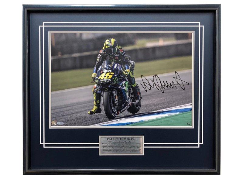 Valentino Rossi 2019 Frenando