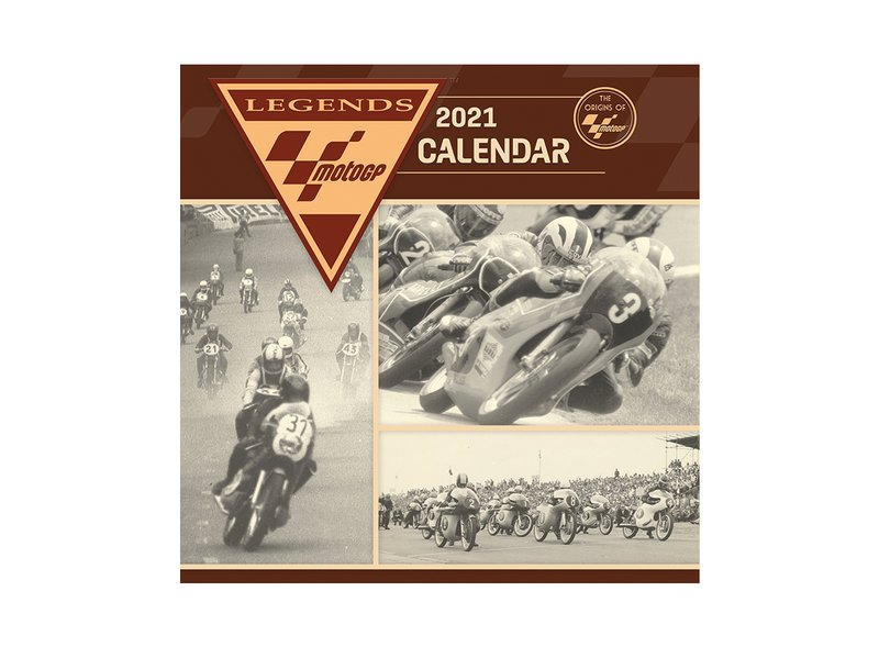 Calendrier Officiel MotoGP™ Legends 2021 - Black