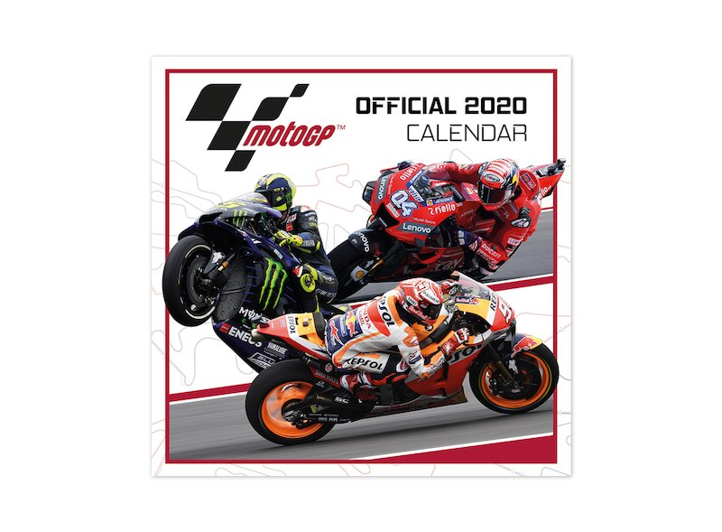 Calendrier Officiel MotoGP™ 2020 - Black