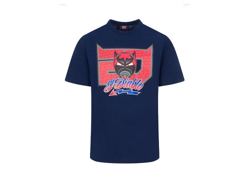 T-shirt Fabio Quartararo El Diablo