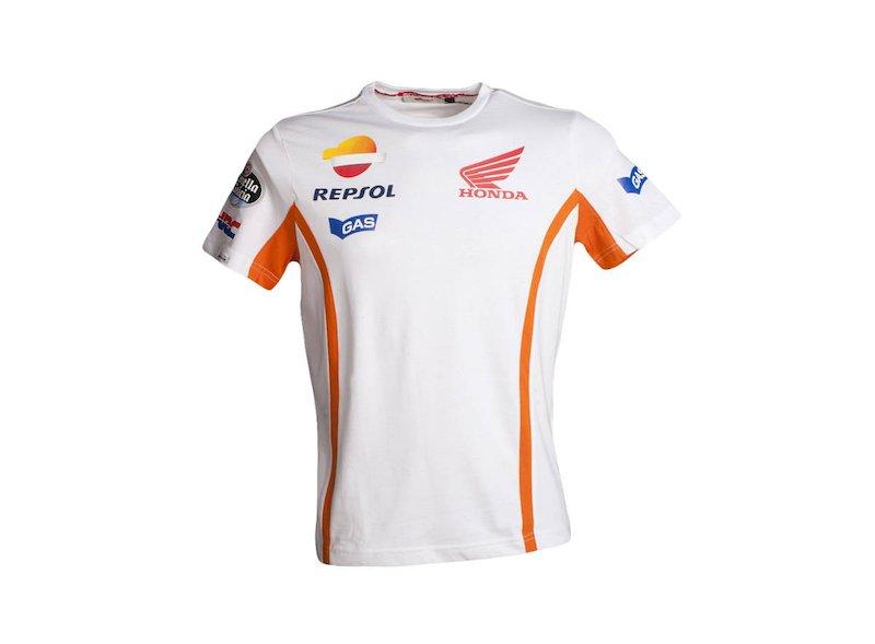 Camiseta Repsol Honda Blanca
