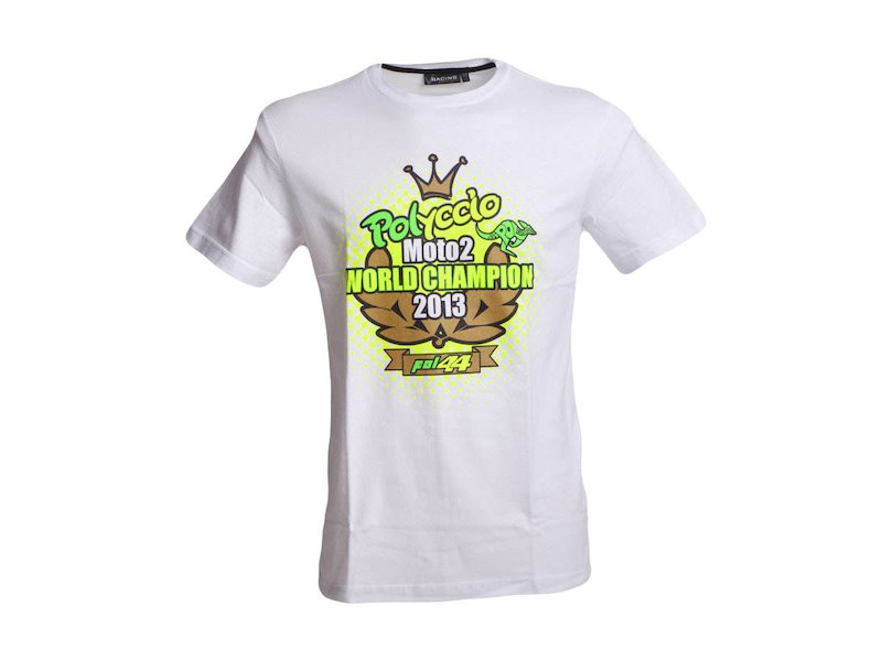 Official T-shirt Pol Espargaró World Champion - White