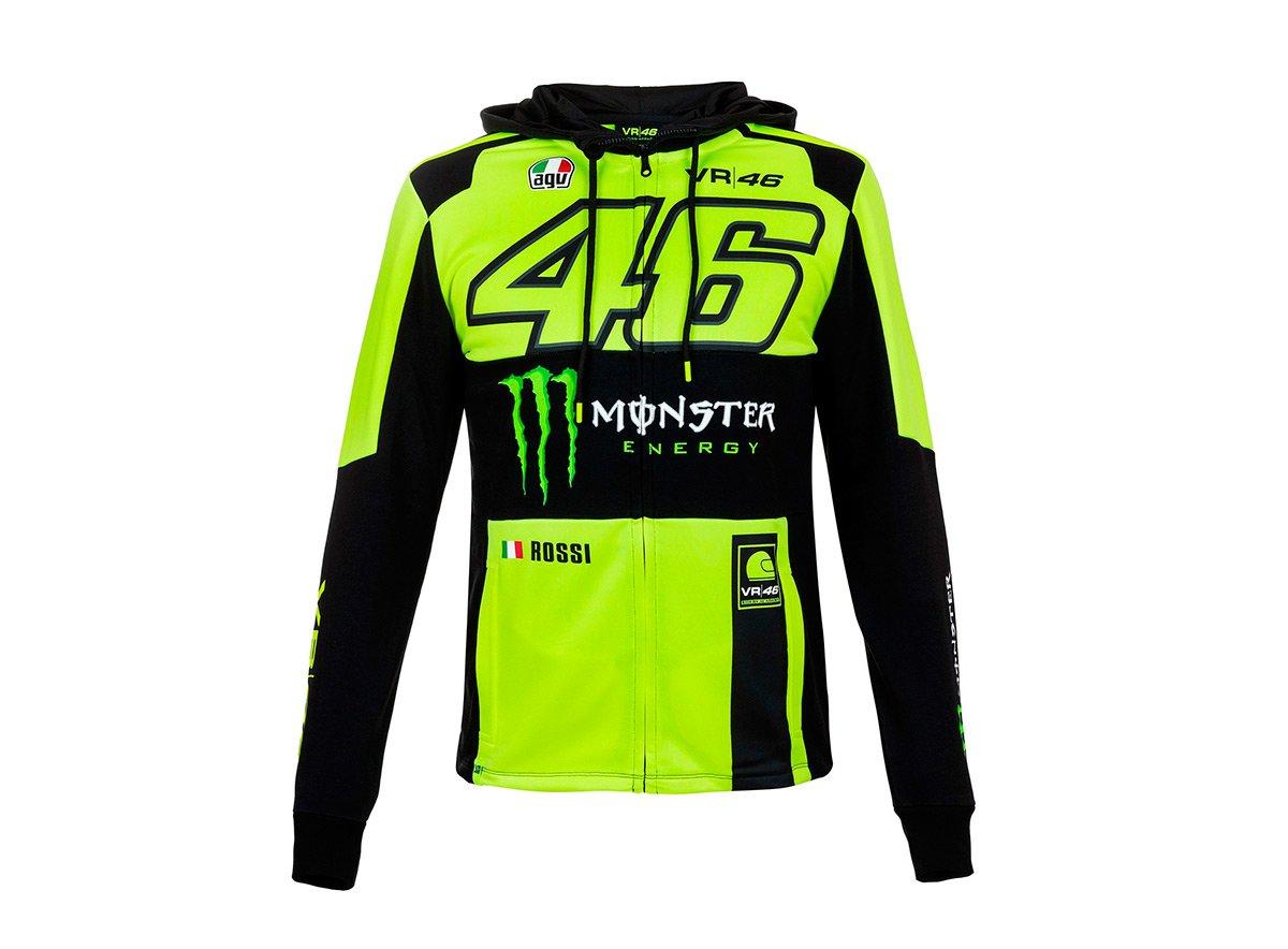 hot sale online 3159f cc67b Felpa Monster Valentino Rossi