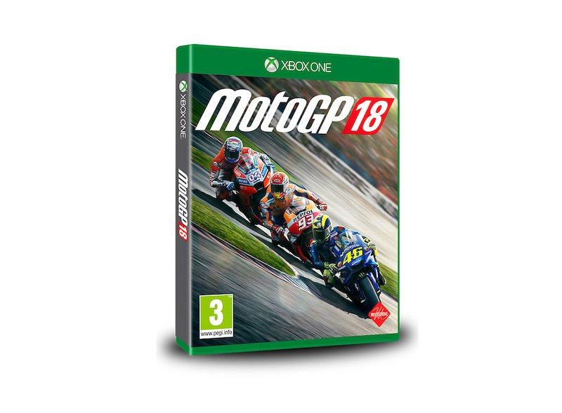 XBOX One MotoGP™ 2018 (Version en Anglais) - White