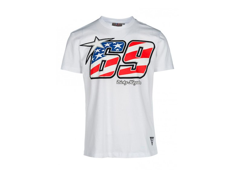 Nicky Hayden Legend T-shirt - White
