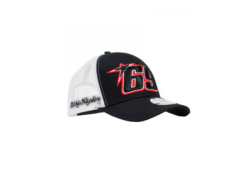 Nicky Hayden 69 Trucker Cap - White