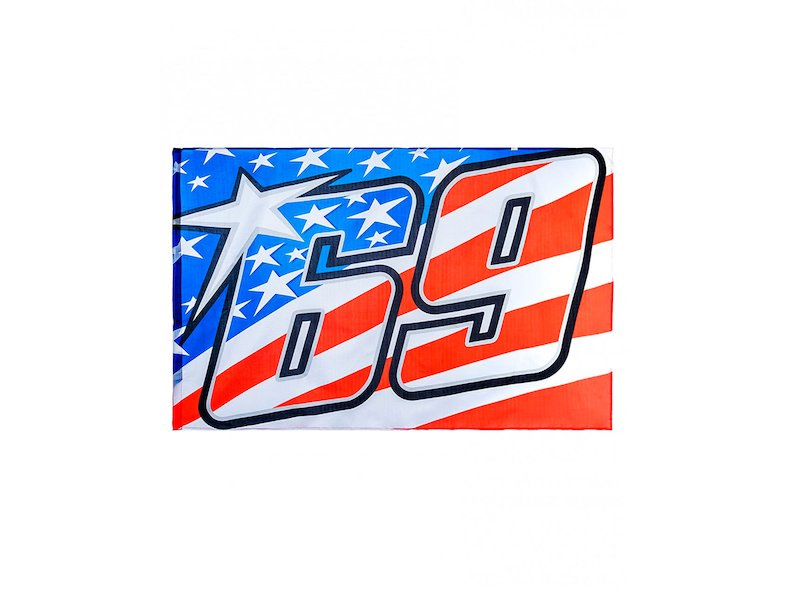 Bandiera Nicky Hayden 69