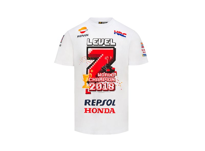 Maglietta Marc Marquez World Champion 2018