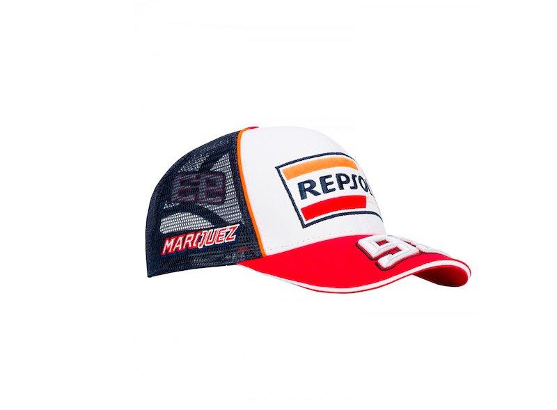 Cappellino Repsol Marquez Trucker