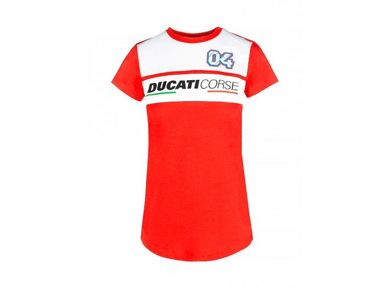 T-shirt Ducati Dovizioso Femme