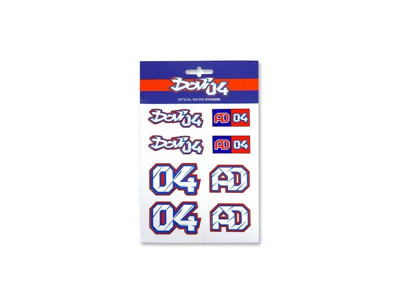 Dovizioso 04 Stickers
