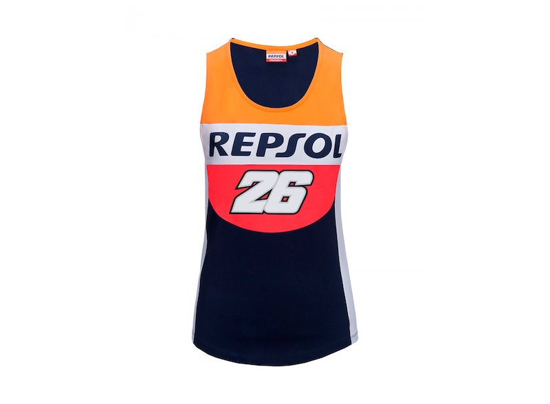 Pedrosa Repsol Woman Tank Top - White