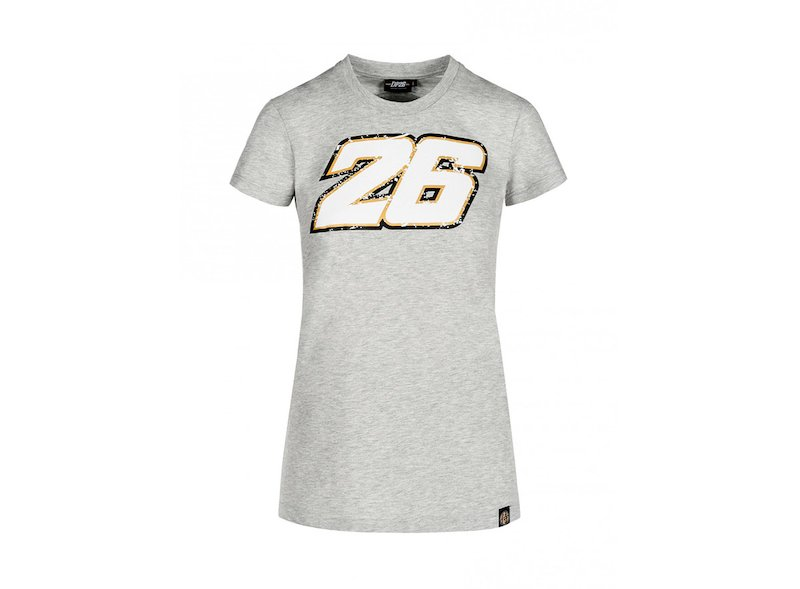 Pedrosa 26 Woman T-shirt - White