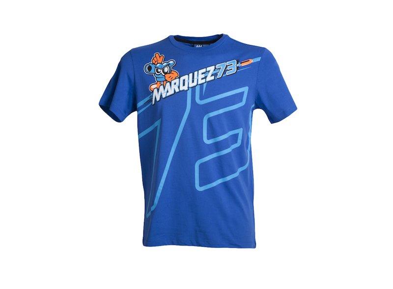 Maglietta Alex Marquez 73 - White