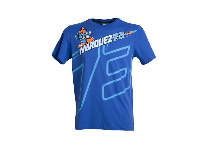 Camiseta Alex Marquez 73 - White
