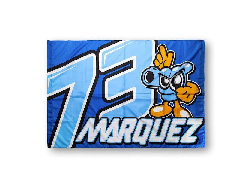 Alex Marquez 73 Official Flag
