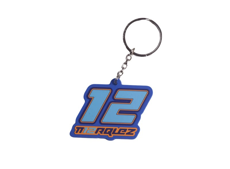 Alex Marquez Key Ring - White