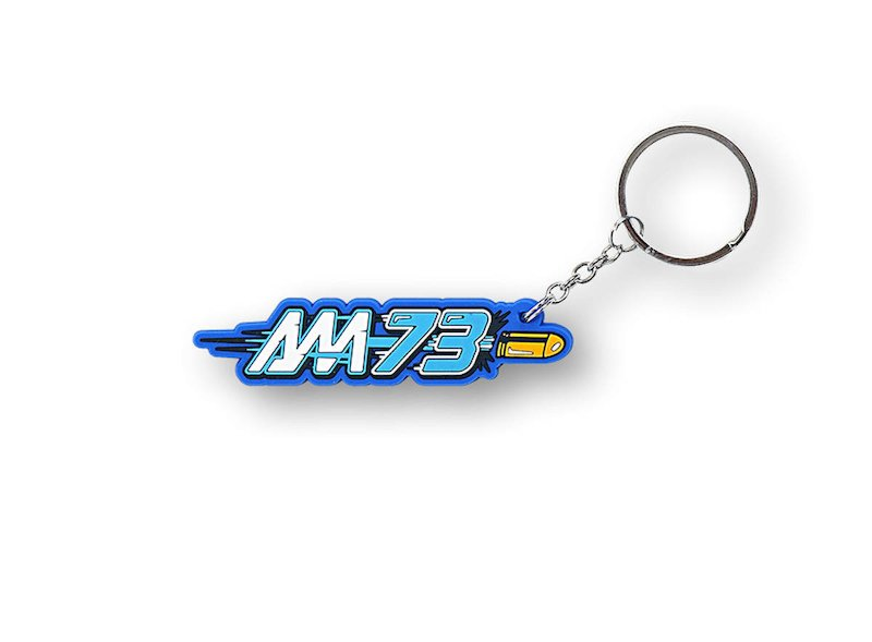 Alex Marquez 73 Official Key Ring - White