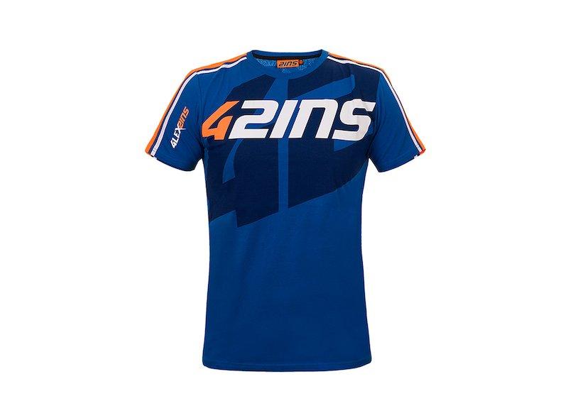 Camiseta Alex Rins 42ins - White