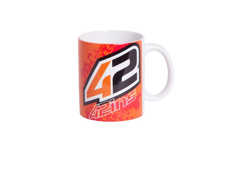 Taza Alex Rins 42 - White
