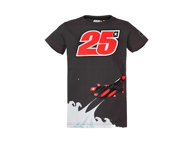 Maverick Viñales 25 T-shirt Kid - White