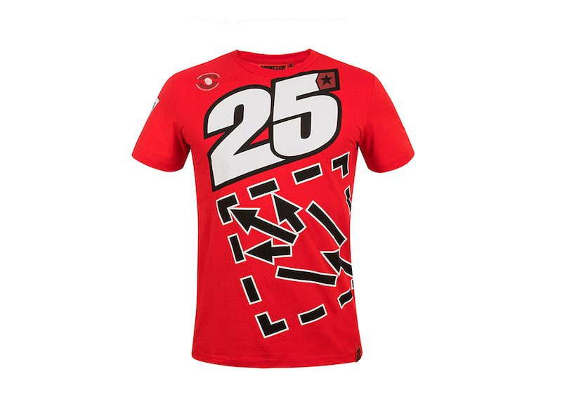 Maverick Viñales 25 T-shirt - White
