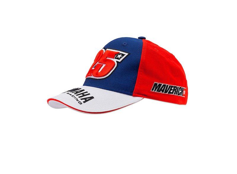 Cappellino Yamaha Maverick Viñales Bambino