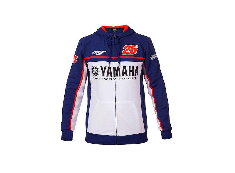 Felpa Yamaha Maverick Viñales - White