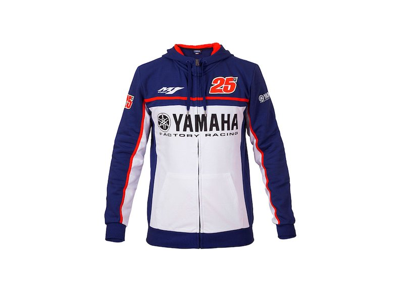 Sweat Yamaha Maverick Viñales - White